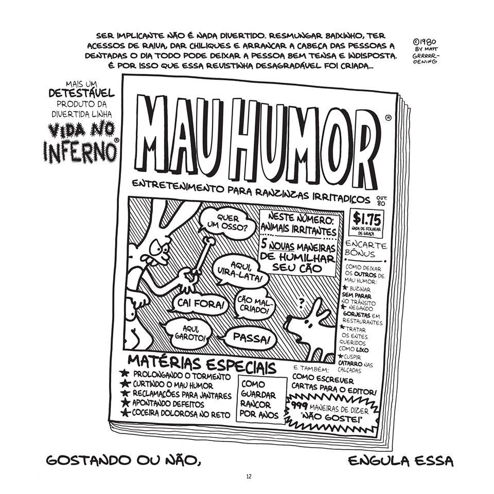 ## Retrospectiva Vitralizado 2016 ## Vida no Inferno (Veneta), por Matt Groening