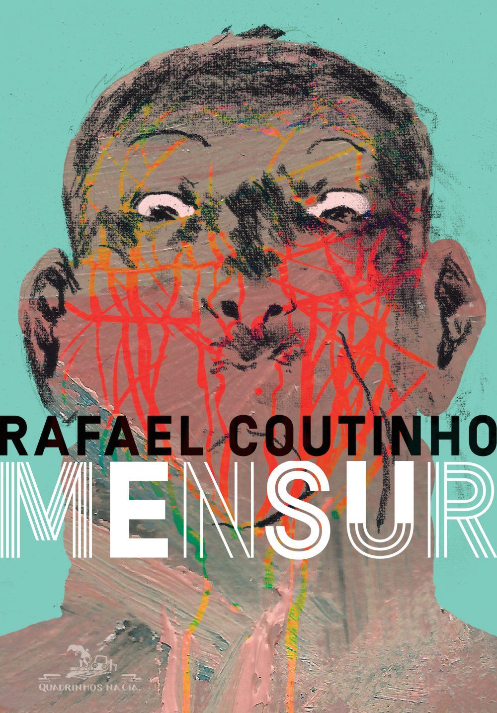 A capa de Mensur, o aguardado novo álbum de Rafael Coutinho