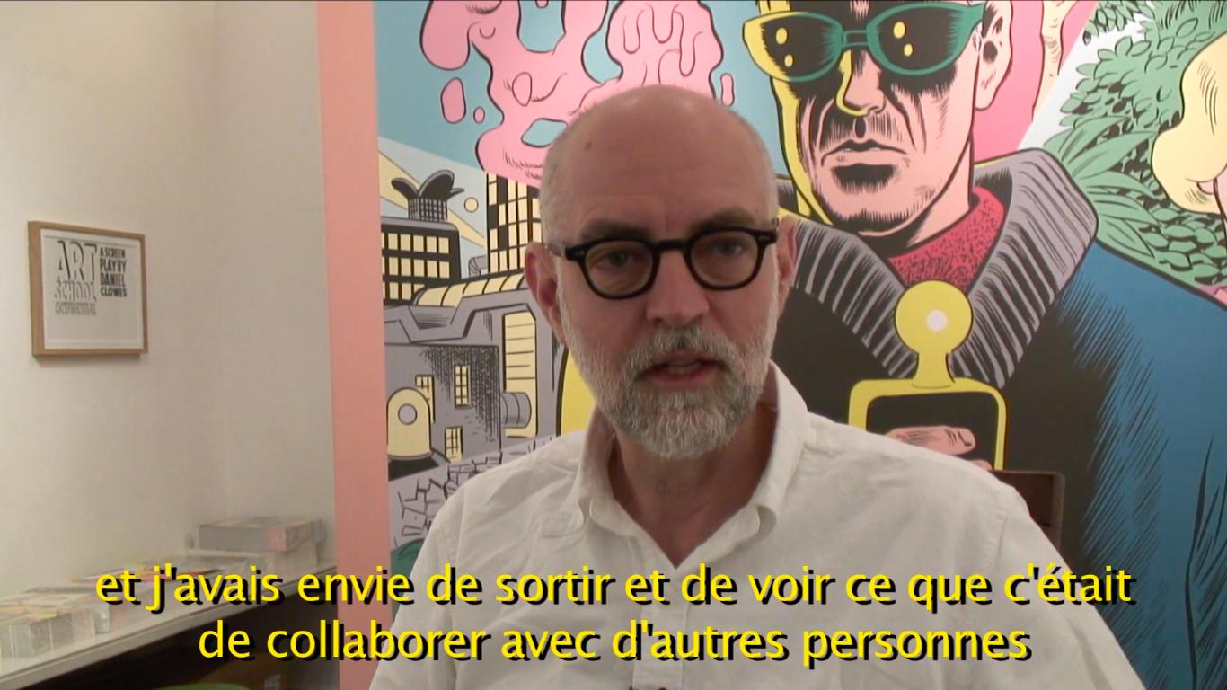 Daniel Clowes fala sobre sua carreira e suas diferentes percepções em relação a quadrinhos com o passar dos anos