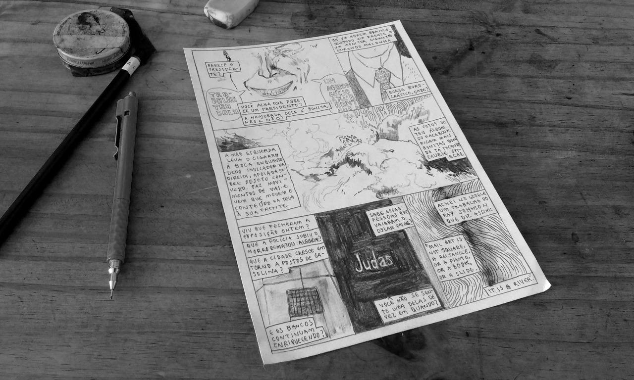 Pedro Franz e a produção do primeiro número da Série Postal