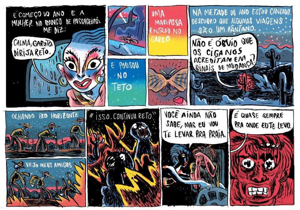 Série Postal: a HQ produzida por Pedro Cobiaco para o nº 2 da coleção