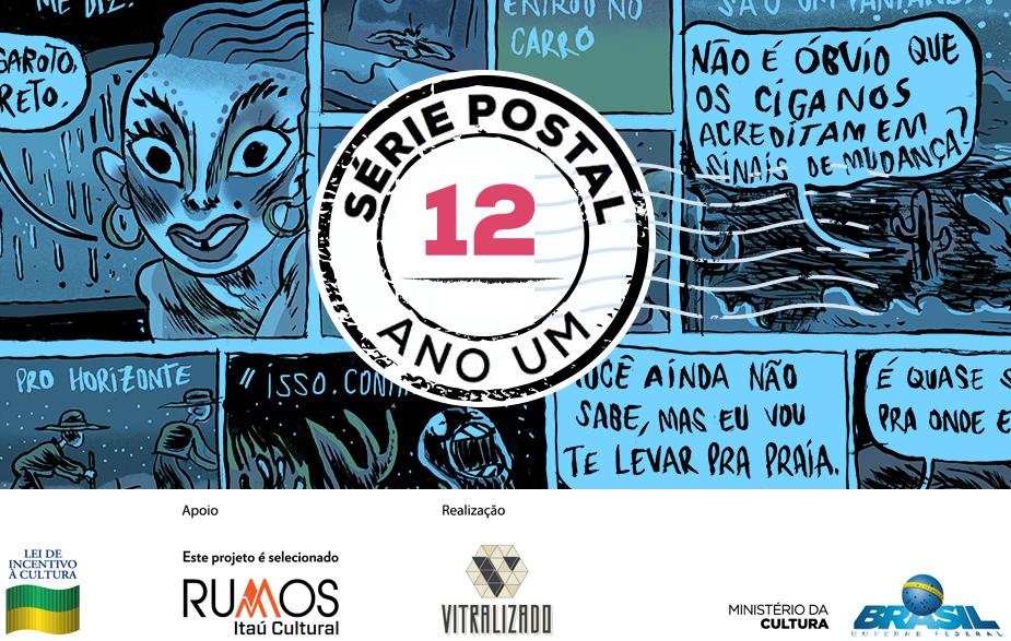 Série Postal: Pedro Cobiaco é o autor do segundo número da coleção de HQs em formato de cartão postal do Vitralizado
