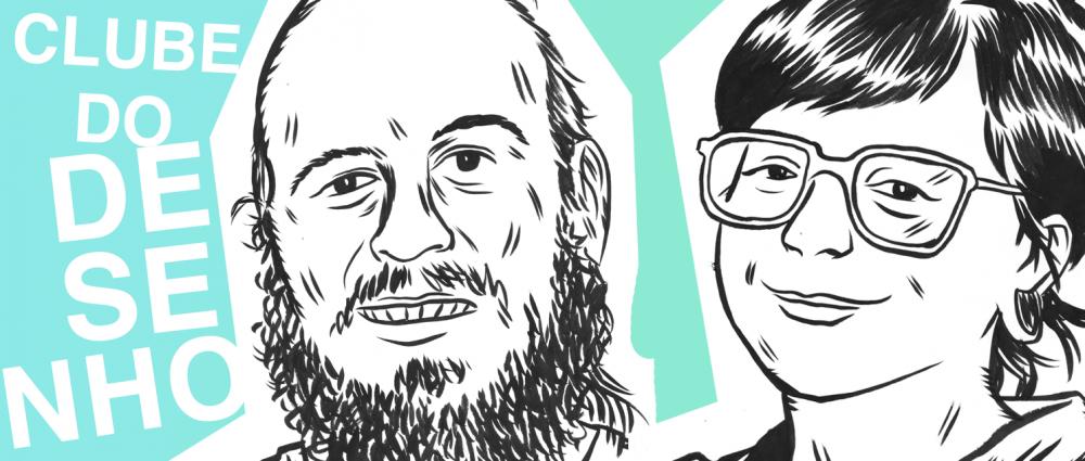 Dois eventos sobre quadrinhos na LAJE: Clube do Desenho #01 (com LoveLove6 & Lucas Gehre) e zine-oficina com Fábio Zimbres
