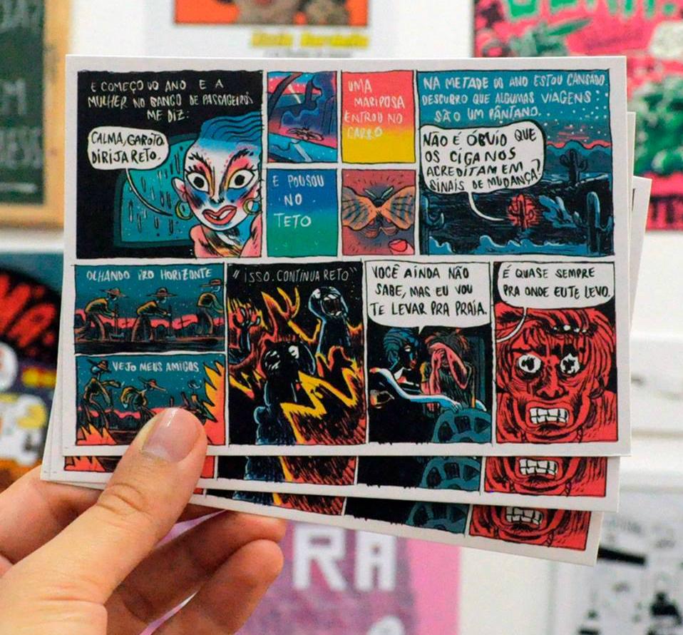 Pedro Cobiaco e a produção do segundo número da Série Postal
