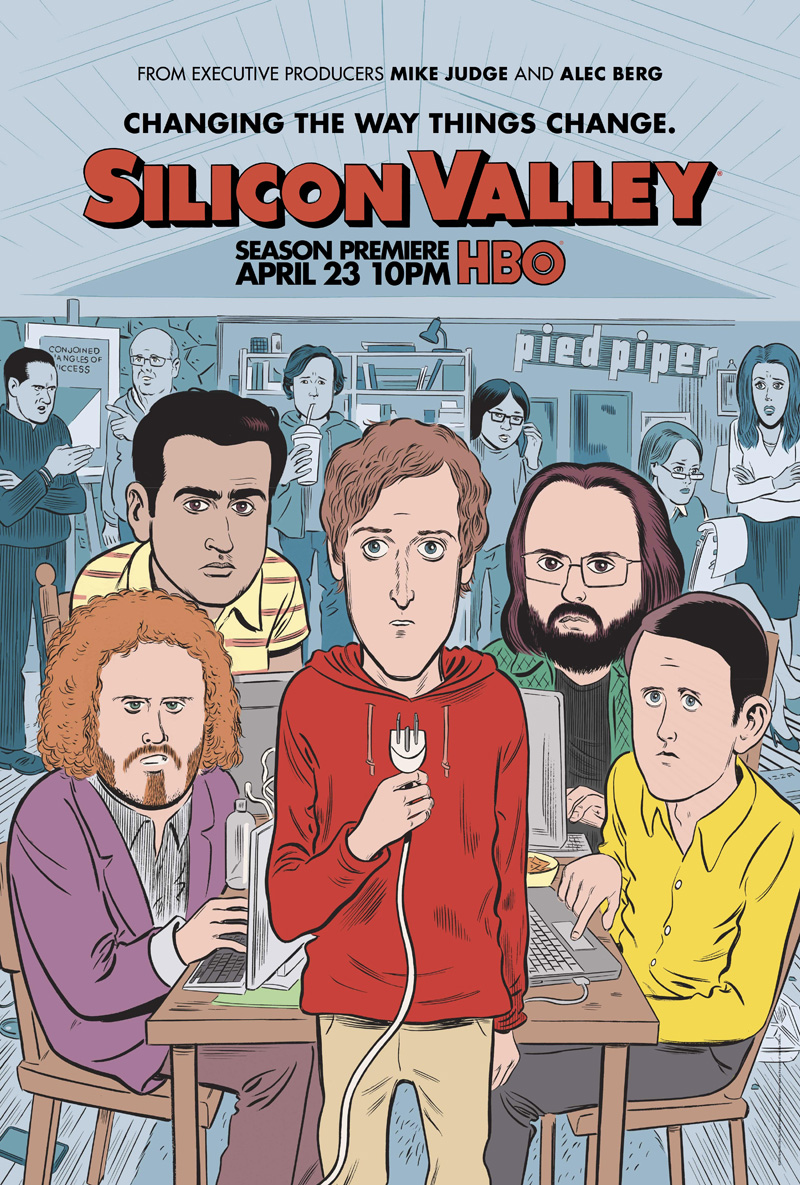 Silicon Valley, por Daniel Clowes