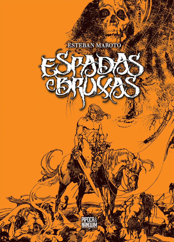 Espadas e Bruxas: confira uma prévia de oito páginas da primeira HQ da editora Pipoca & Nanquim