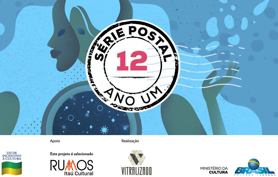 Série Postal: Bárbara Malagoli é a autora do quinto número da coleção de HQs em formato de cartão postal do Vitralizado
