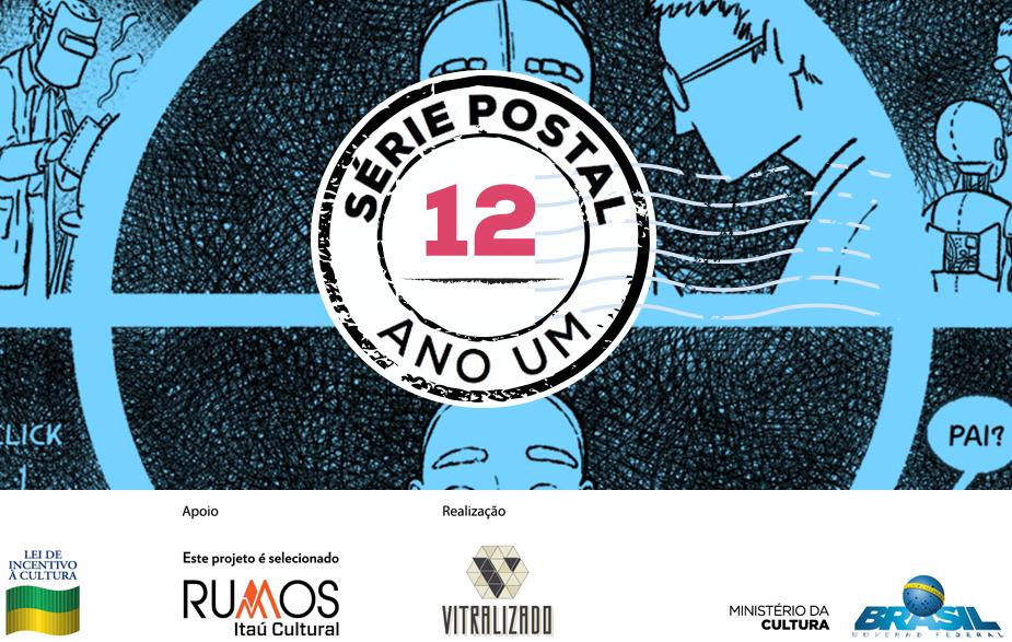 Série Postal: Bianca Pinheiro é a autora do quarto número da coleção de HQs em formato de cartão postal do Vitralizado