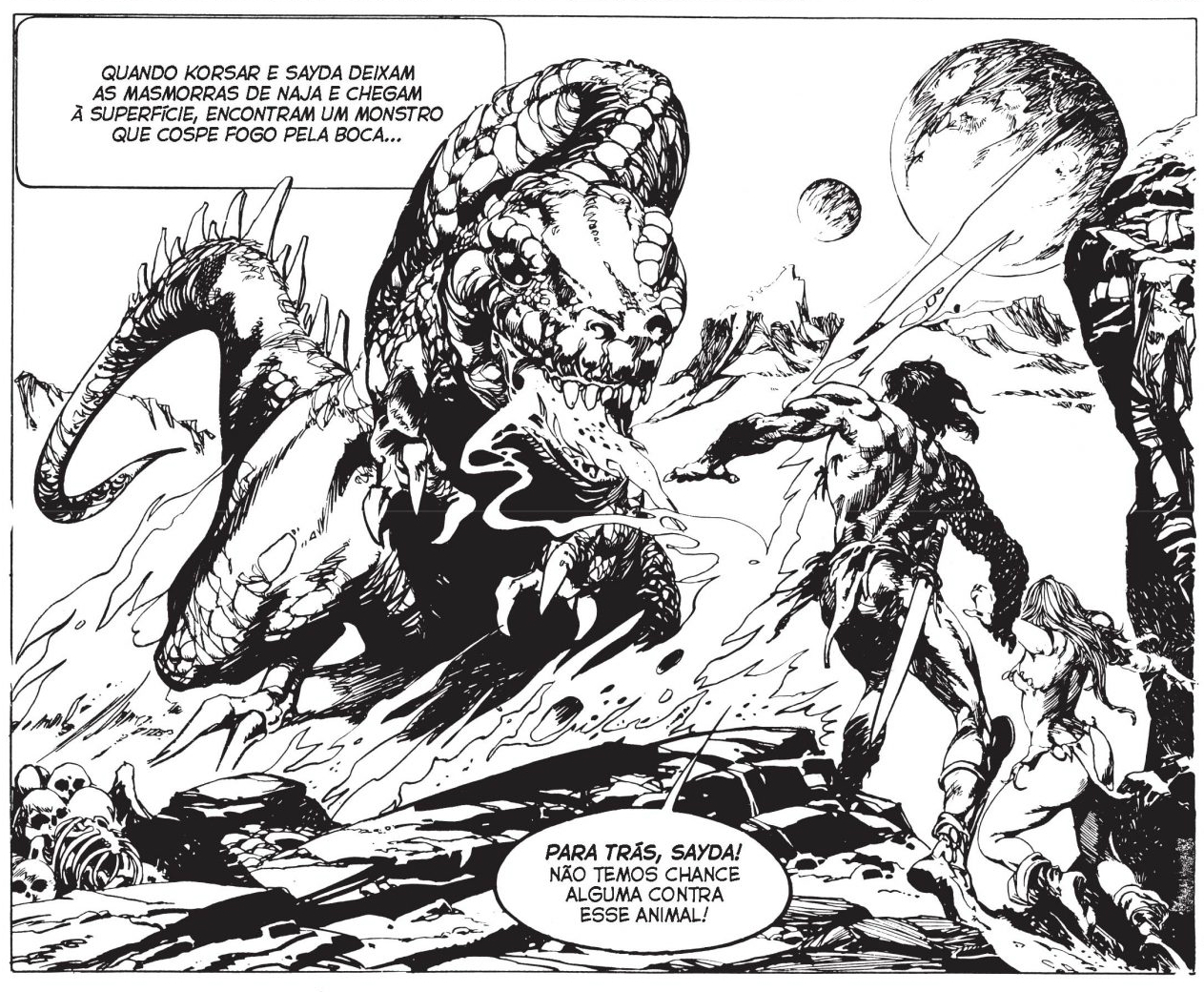 """Papo com Esteban Maroto, o autor de Espadas e Bruxas: """"O que faz os quadrinhos de bárbaros tão universais é a mitologia dos contos de fadas"""""""