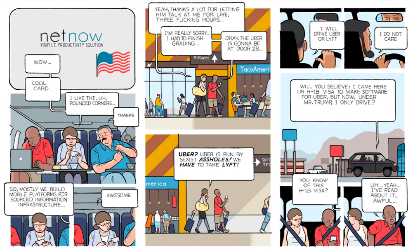 Business or Pleasure, por Chris Ware