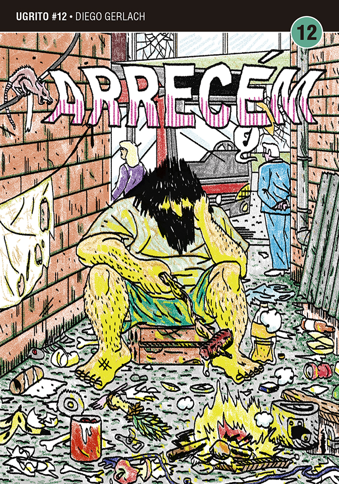 Arrecém: confira a capa e as primeiras páginas da HQ de Diego Gerlach para a 12ª edição da coleção Ugrito