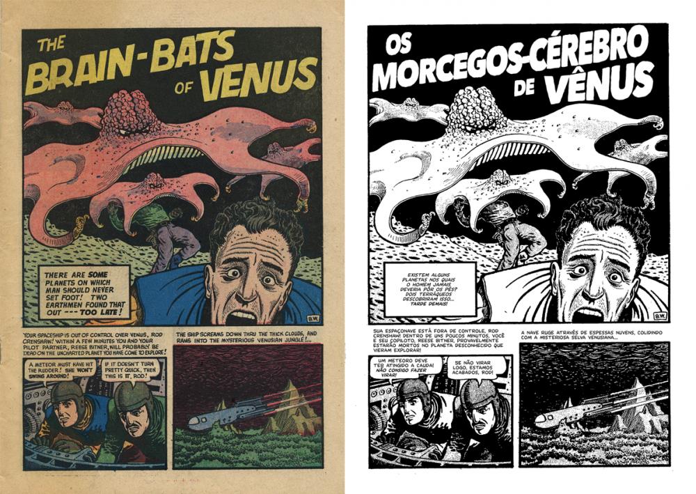 Os Morcegos-Cérebro de Vênus e Outras Histórias e o despertar da Era de Ouro dos quadrinhos norte-americanos