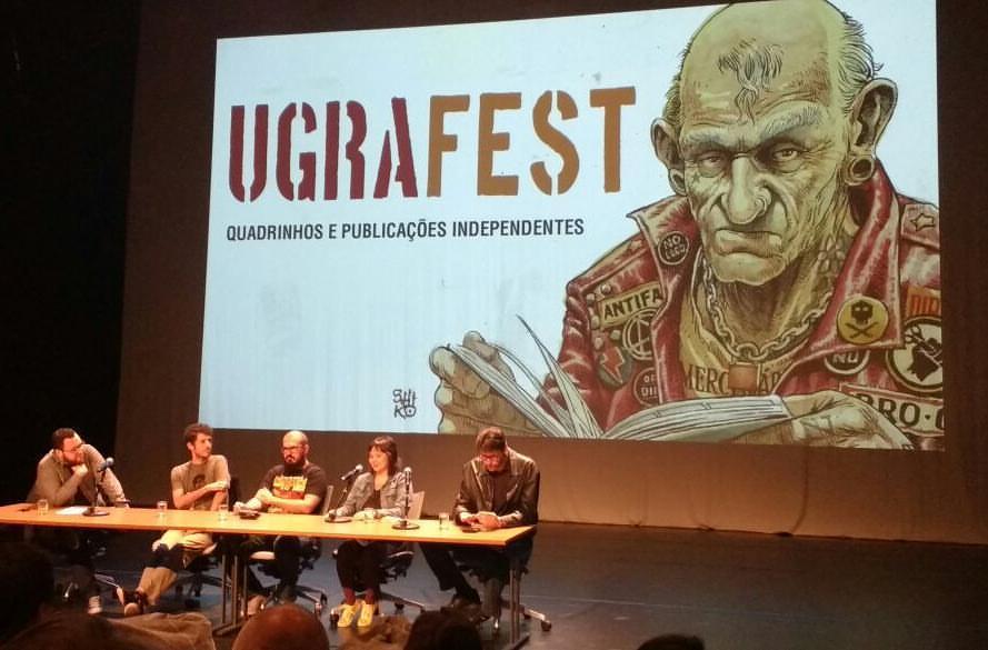 HQs e imprensa: uma conversa com Lielson Zeni, Daniel Lopes, Carolina Ito e Paulo Ramos no Ugra Fest 2017. Assista!