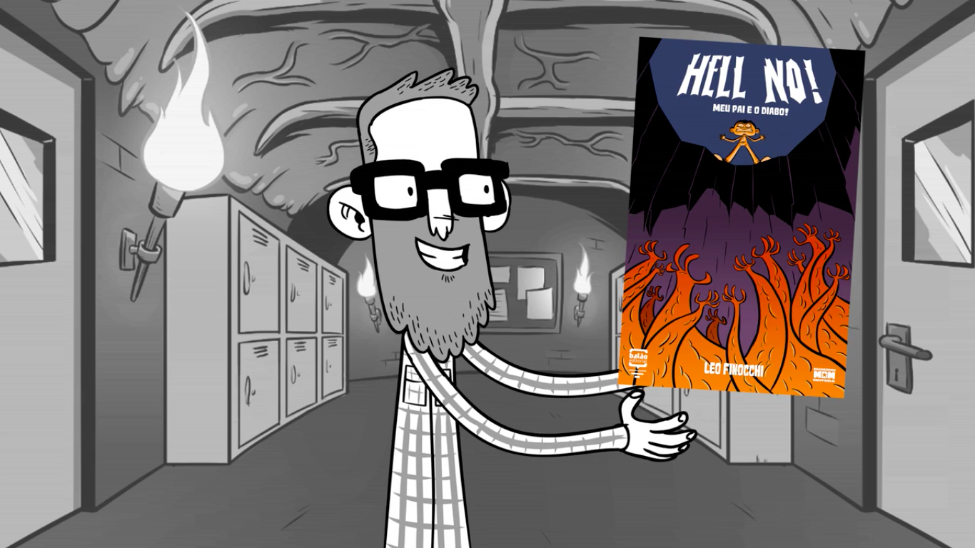Hell NO! – Meu Pai é o Diabo: a campanha de financimento coletivo da nova HQ de Leo Finocchi
