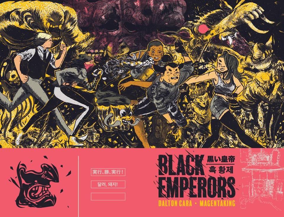 Magenta King e Dalton Cara lançam Black Emperors na Quanta hoje (7/7), a partir das 18h