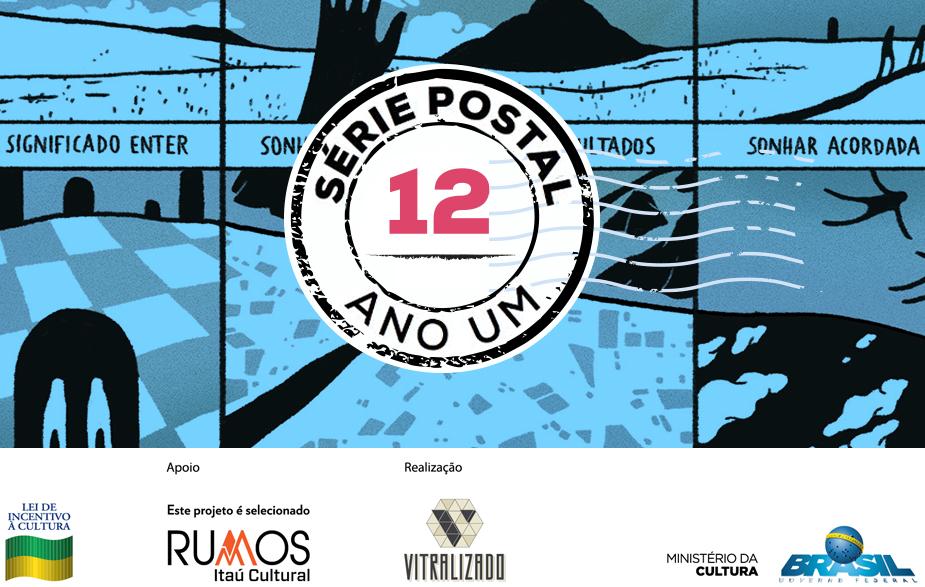 Série Postal: Manzanna é a autora do sétimo número da coleção de HQs em formato de cartão postal do Vitralizado