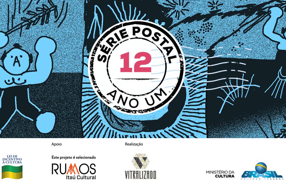 Série Postal: Paula Puiupo é a autora do oitavo número da coleção de HQs em formato de cartão postal do Vitralizado