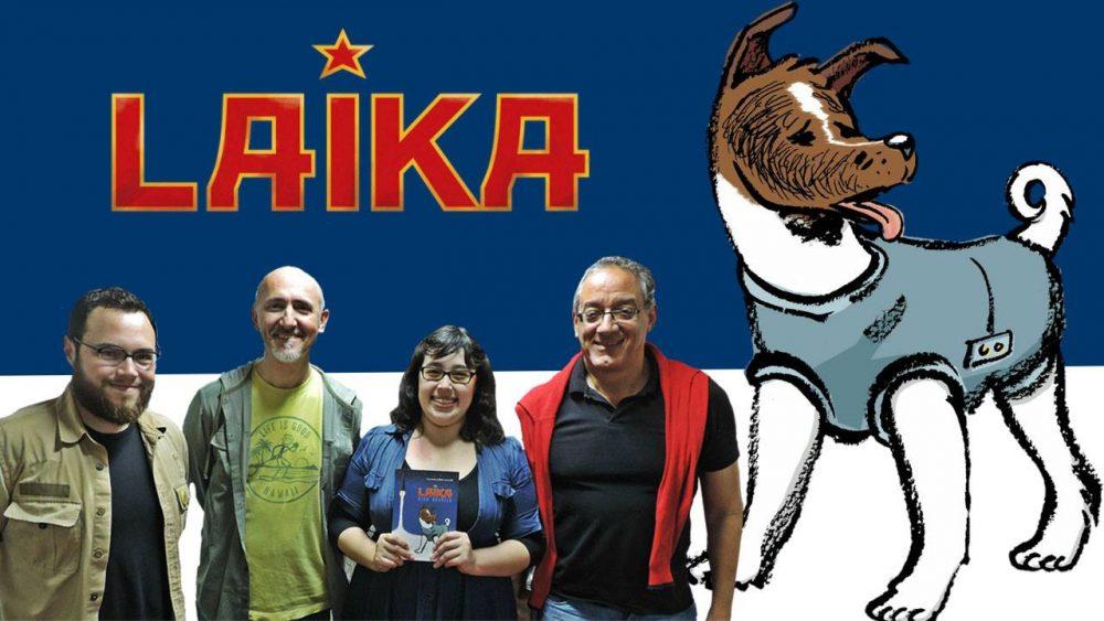 Uma conversa sobre Laika, corrida espacial e HQs na Ugra Press. Assista!