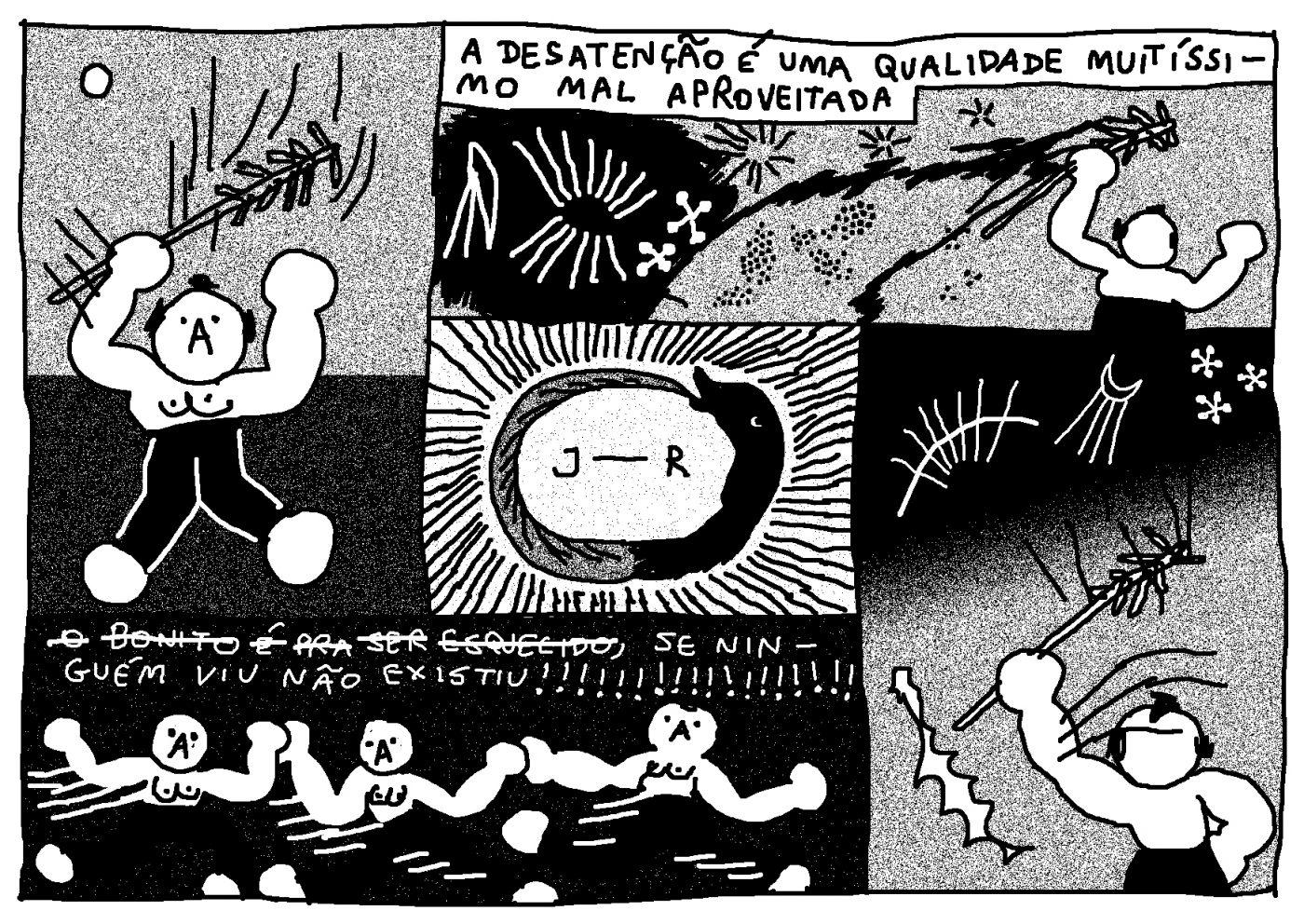 Série Postal: a HQ produzida por Paula Puiupo para o nº8 da coleção