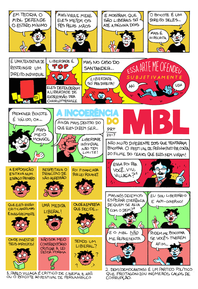 Felipe Portugal e a incoerência do MBL