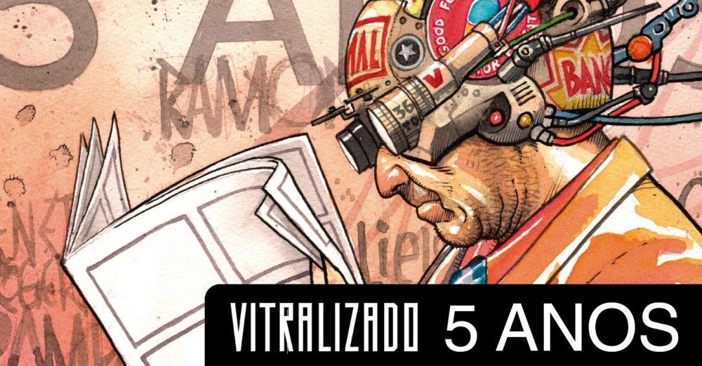 Sábado (7/10): a festa de aniversário de 5 anos do Vitralizado na Ugra em SP!
