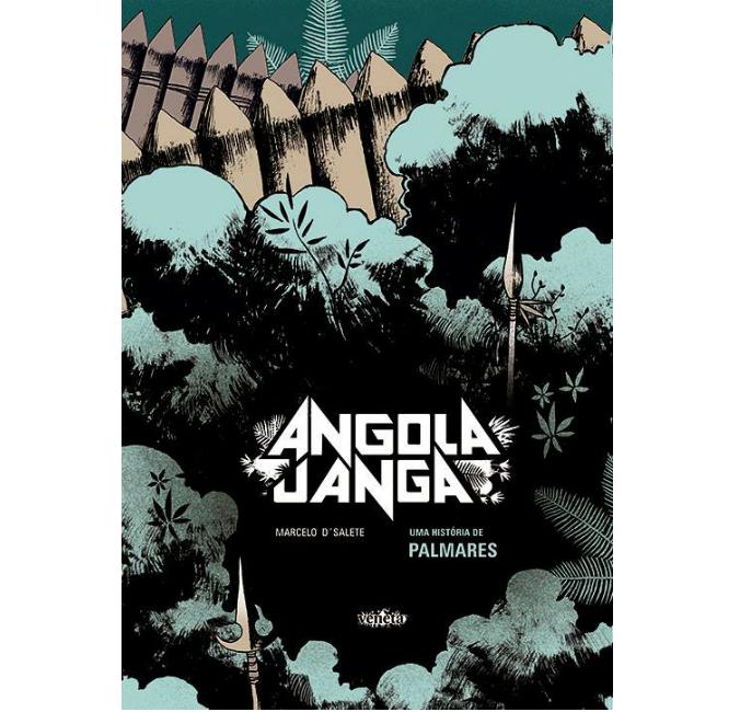 A capa de Angola Janga – Uma História de Palmares a nova HQ de Marcelo D'Salete