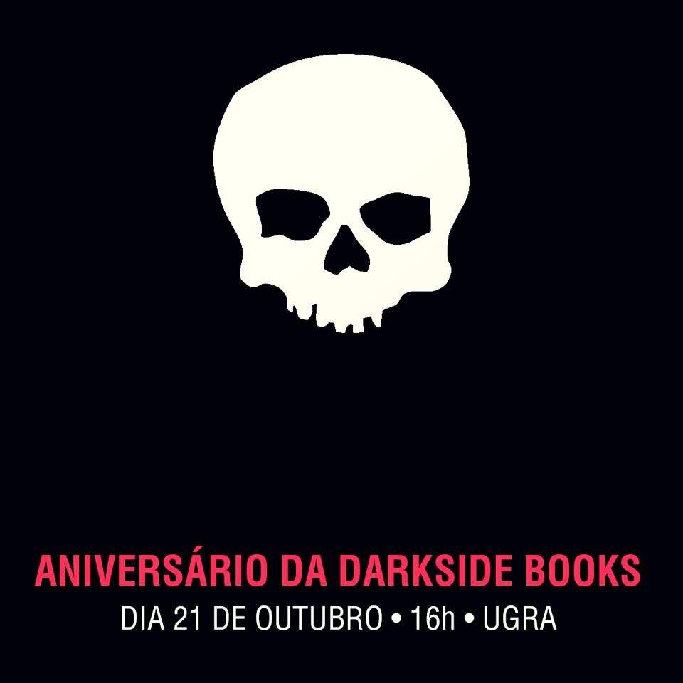 Sábado (21/10) tem festa de aniversário de cinco anos da DarkSide Books com lançamento de Black Hole e Creepshow