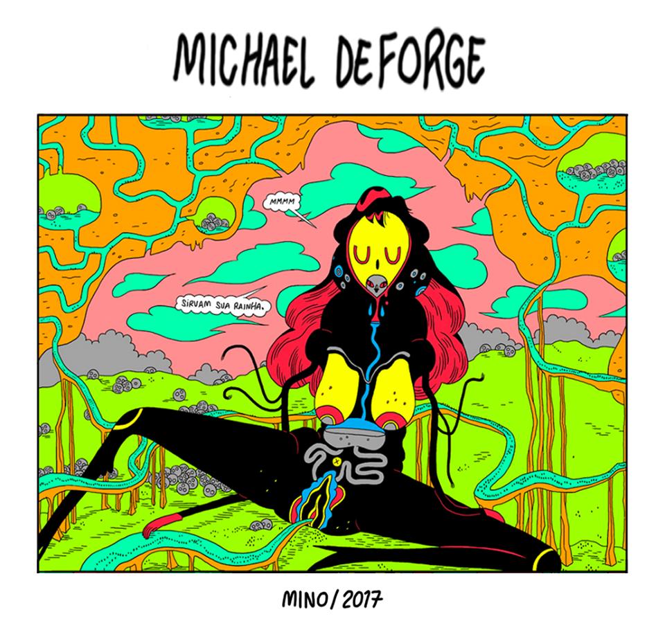 Ant Colony, de Michael DeForge, chega ao Brasil em dezembro pela Mino