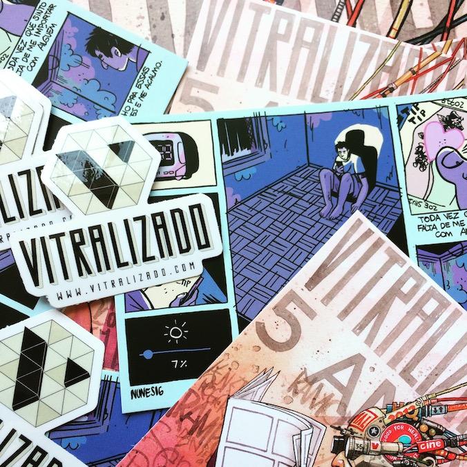 Vitralizado 5 anos: a festa! Nos vemos amanhã (7/10), às 16h, na Ugra?