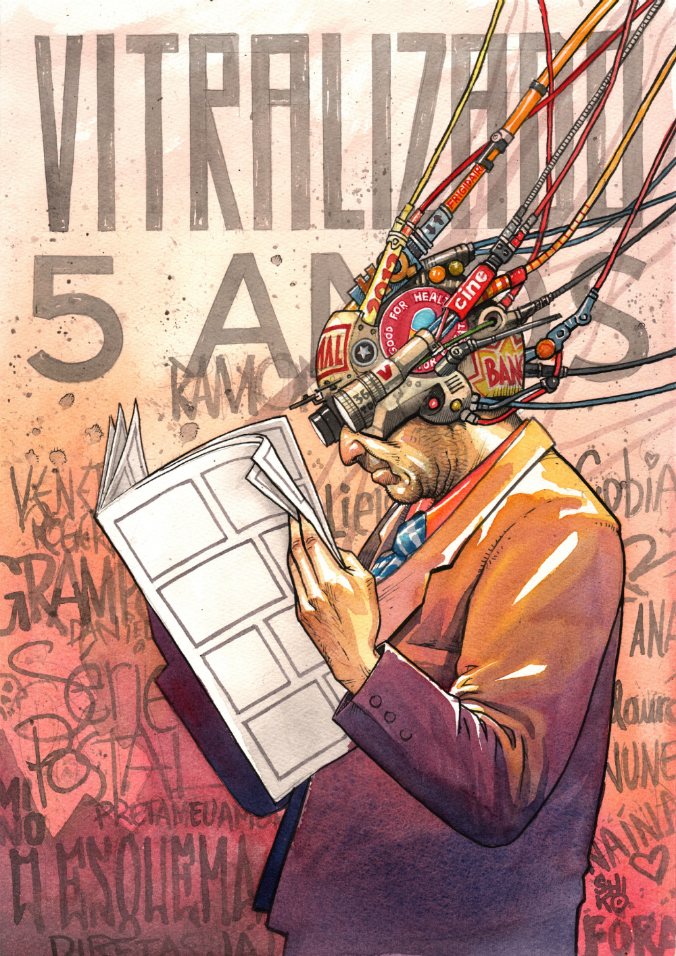 Vitralizado: 5 anos!