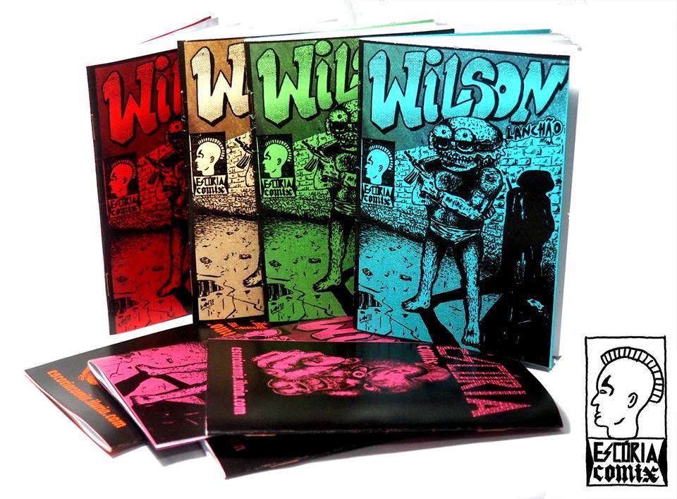 Confira uma prévia de WILSON LANCHÃO, nova HQ de Lobo Ramirez pela editora Escória Comix