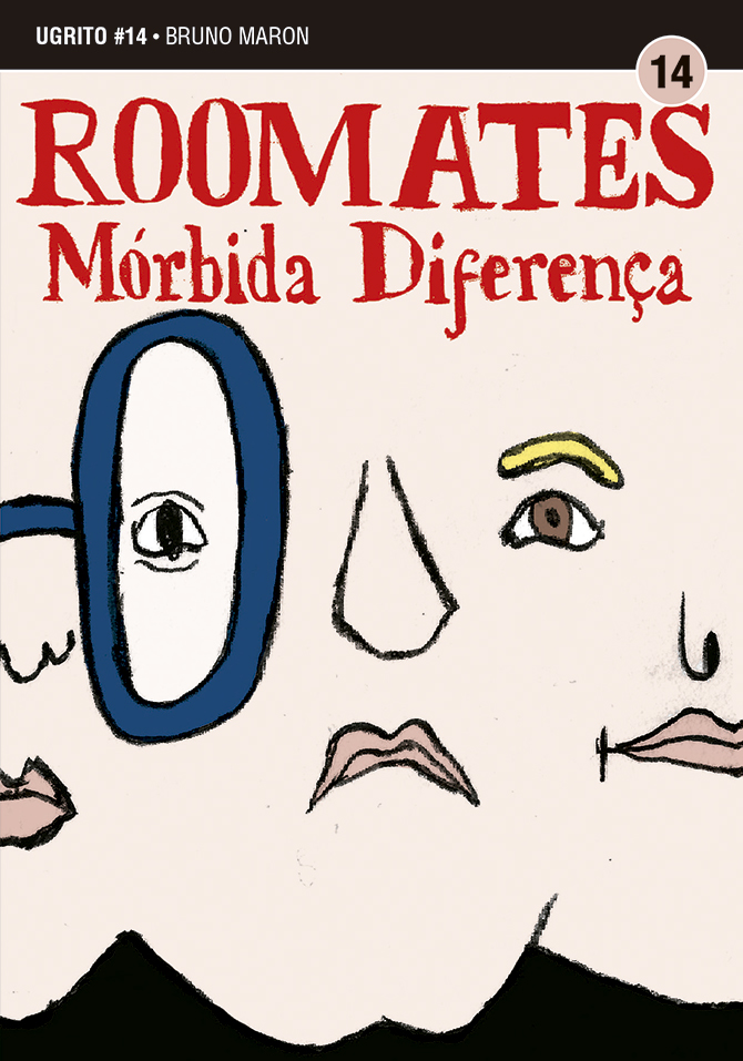 Roomates – Mórbida Diferença: a capa da HQ de Bruno Maron para o 14º Ugrito