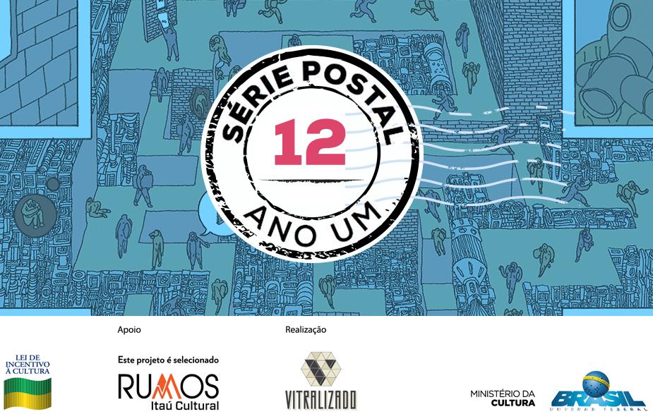 Série Postal: Jão e Mariana Paraizo assinam os dois últimos números da coleção de HQs em formato de cartão postal do Vitralizado