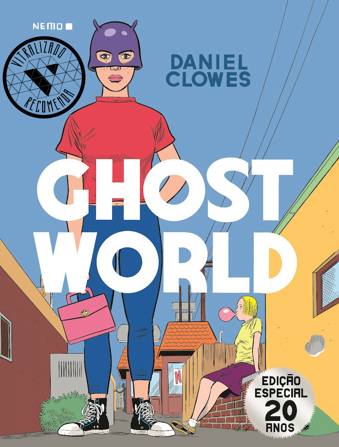 Vitralizado Recomenda #0020: Ghost World (Nemo), por Daniel Clowes
