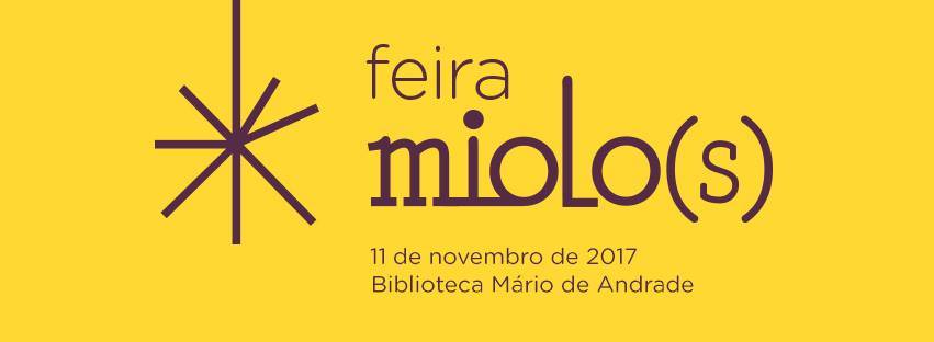 Sábado (11/11) é dia de Feira Miolo(s) na Biblioteca Mário de Andrade em SP
