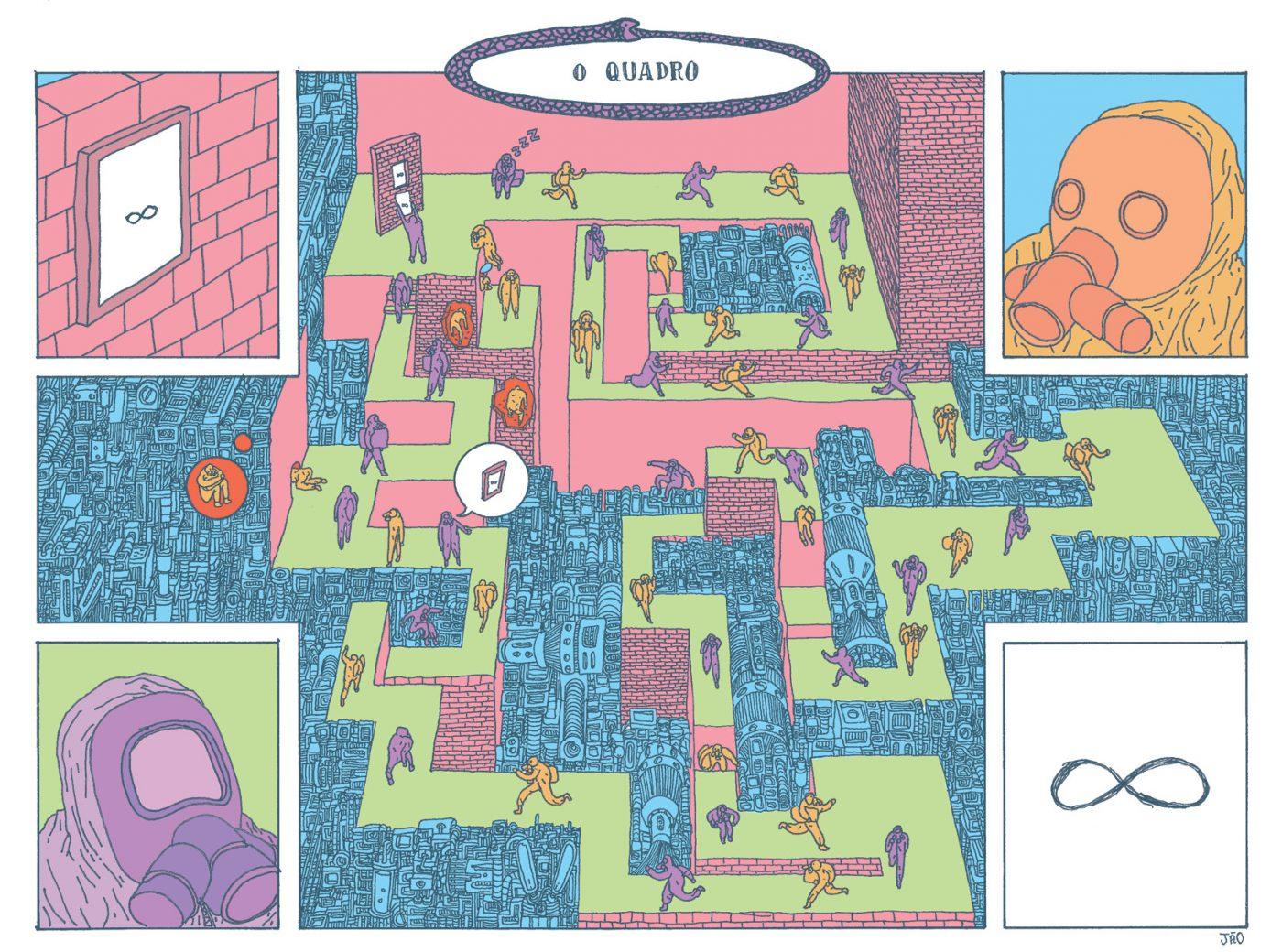 Série Postal: as HQs produzida por Jão e Mariana Paraizo para os dois últimos números da coleção