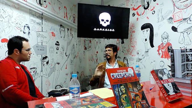 Uma conversa com Bruno Dorigatti sobre Black Hole, Creepshow e as HQs da DarkSide Books