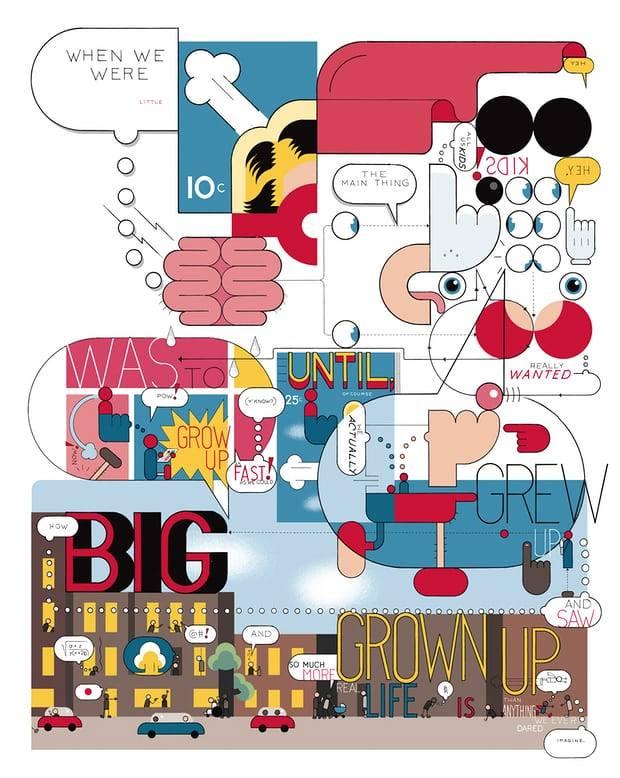 Sete dicas de Chris Ware para filmes, séries, músicas, exposições, quadrinhos e ilustrações