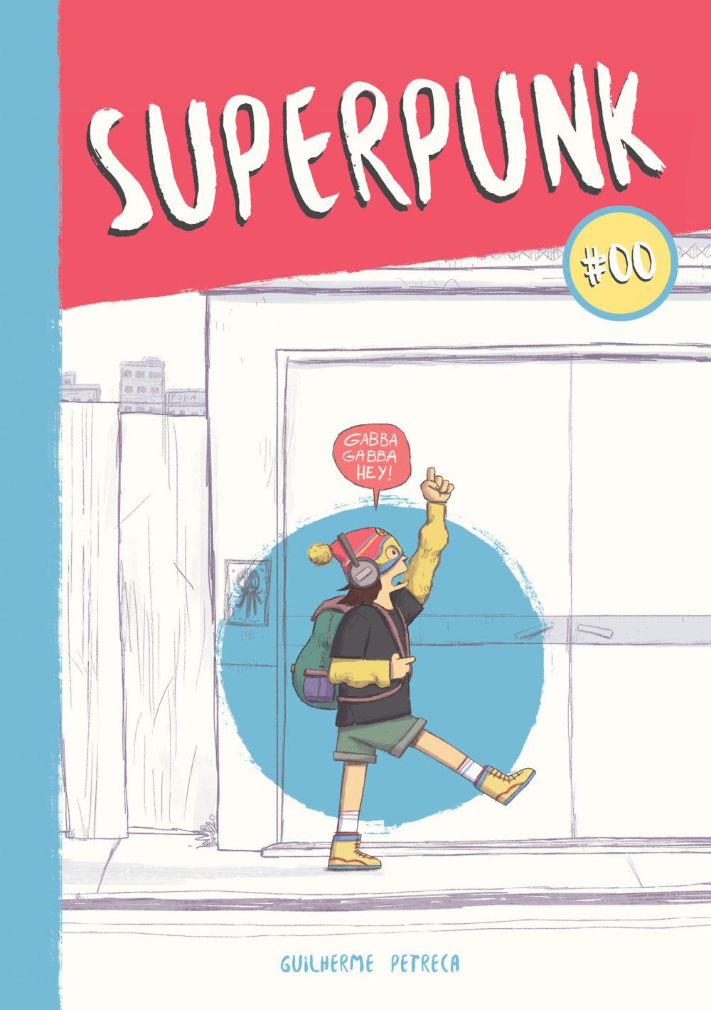 Superpunk: confira a capa e uma prévia da nova HQ de Guilherme Petreca