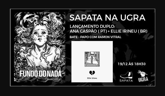 3ª (19/12) é dia de bate-papo com Cecília Silveira e lançamentos da Sapata Press em São Paulo