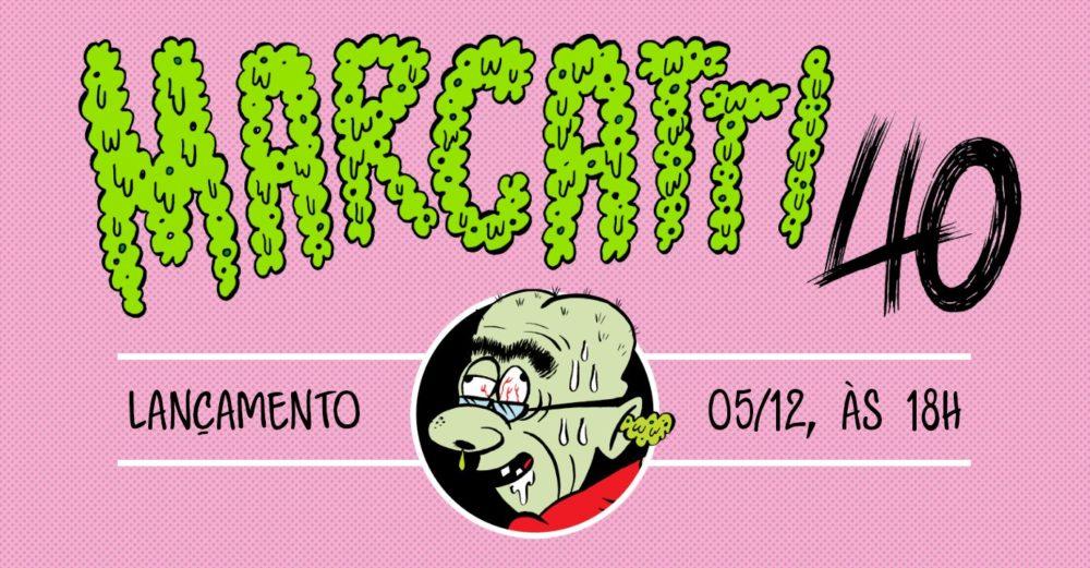 3ª (5/12) é dia de lançamento da coletânea Marcatti 40 em São Paulo