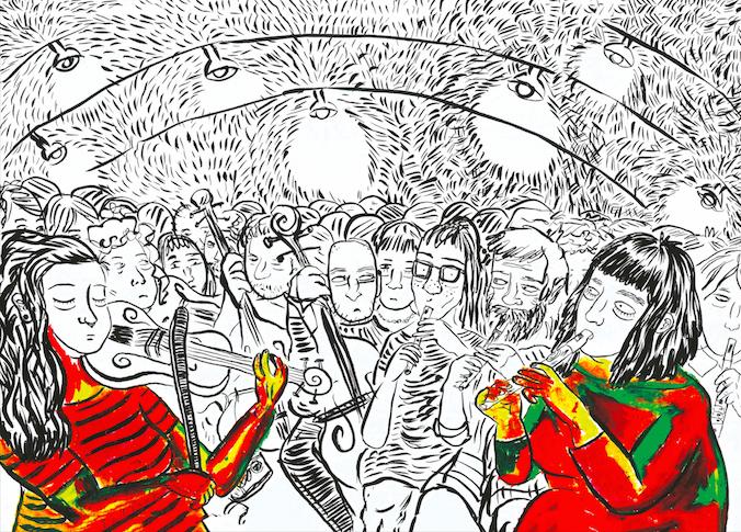 Aline Zouvi faz retrospectiva da carreira na exposição Solstício, em São Paulo