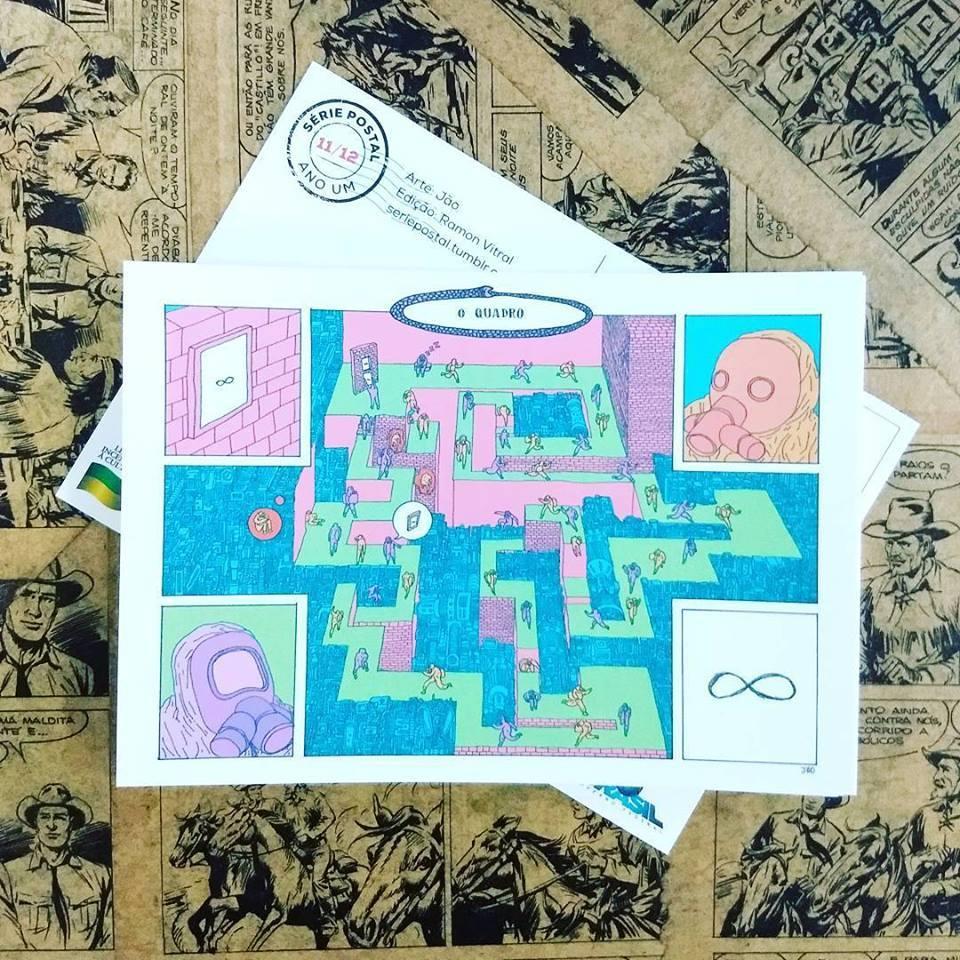 Jão e a produção do 11º número da Série Postal