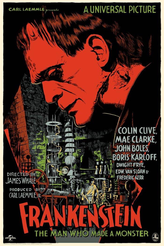 Frankenstein, por Francesco Francavilla