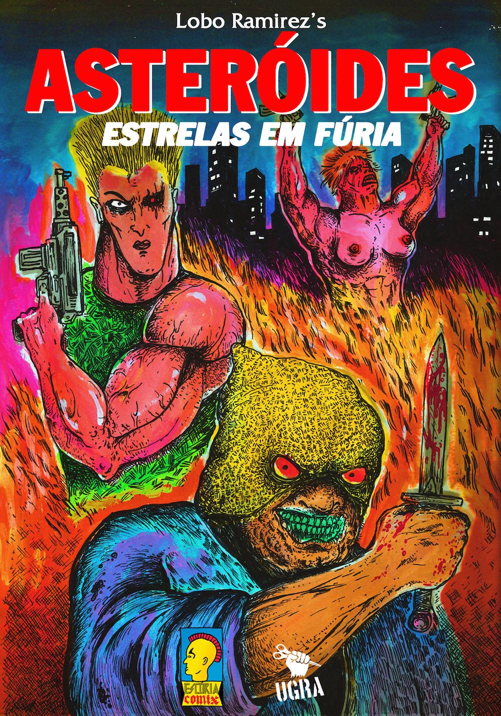 Asteróides – Estrelas em Fúria: confira a capa da nova HQ de Lobo Ramirez