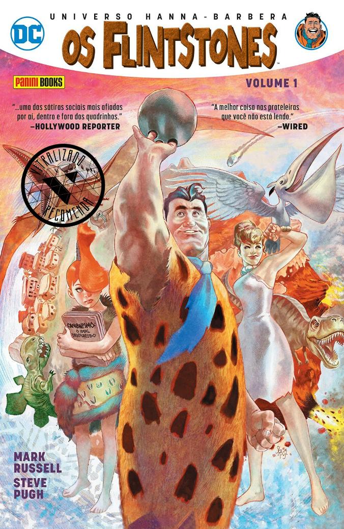Vitralizado Recomenda #0021: Os Flintstones – Volume 1 (Panini), por Mark Russell e Steve Pugh