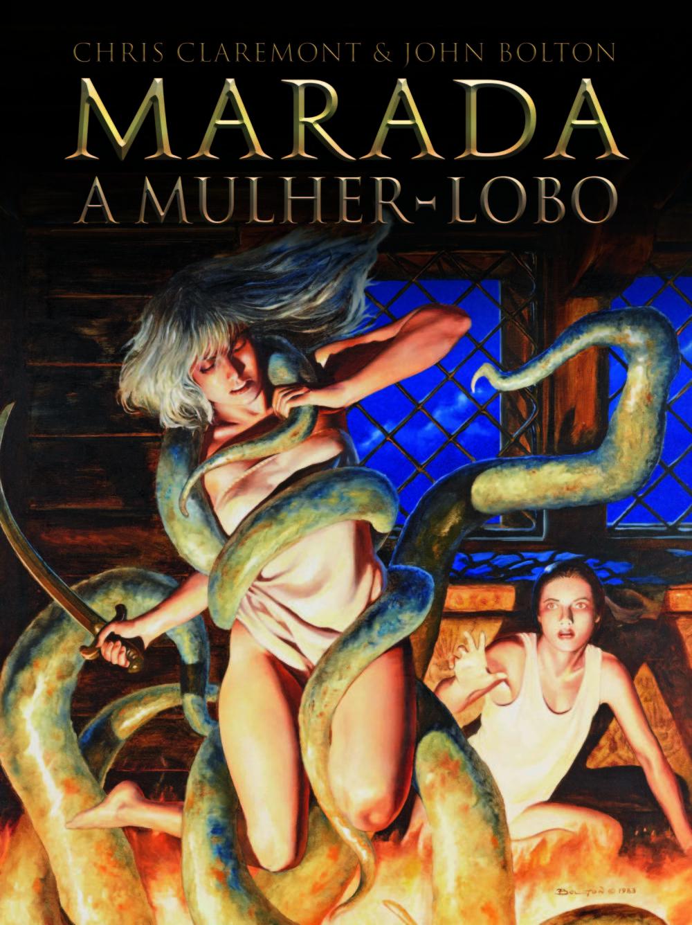 Marada – A Mulher Lobo: confira a capa e uma prévia do álbum de Chris Claremont e John Bolton que será publicado pela Pipoca & Nanquim