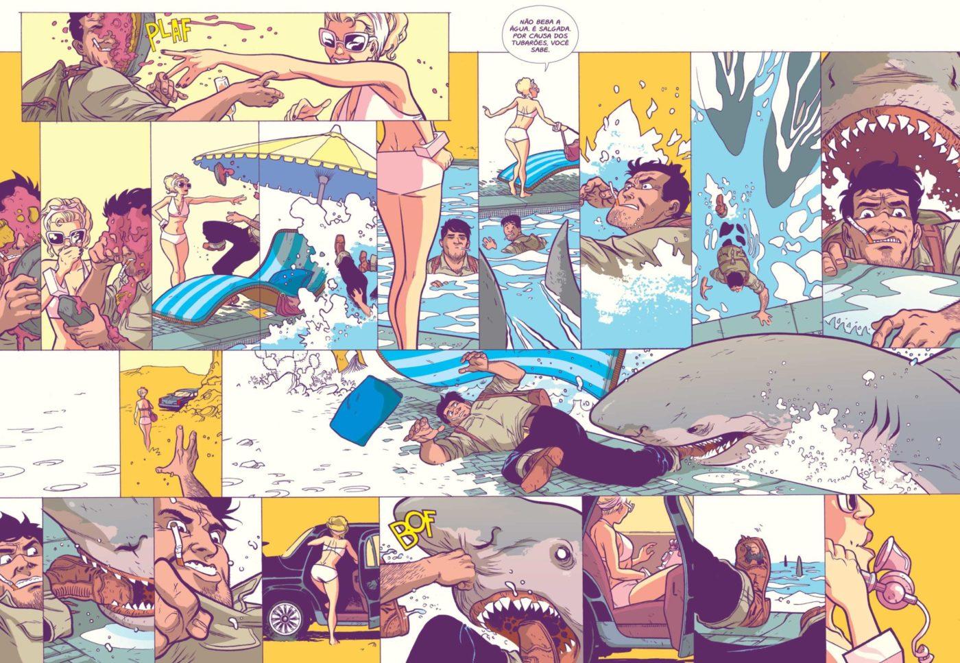 Confira a capa e uma prévia de Conto de Areia, HQ com roteiro de Jim Henson publicada pela Pipoca & Nanquim