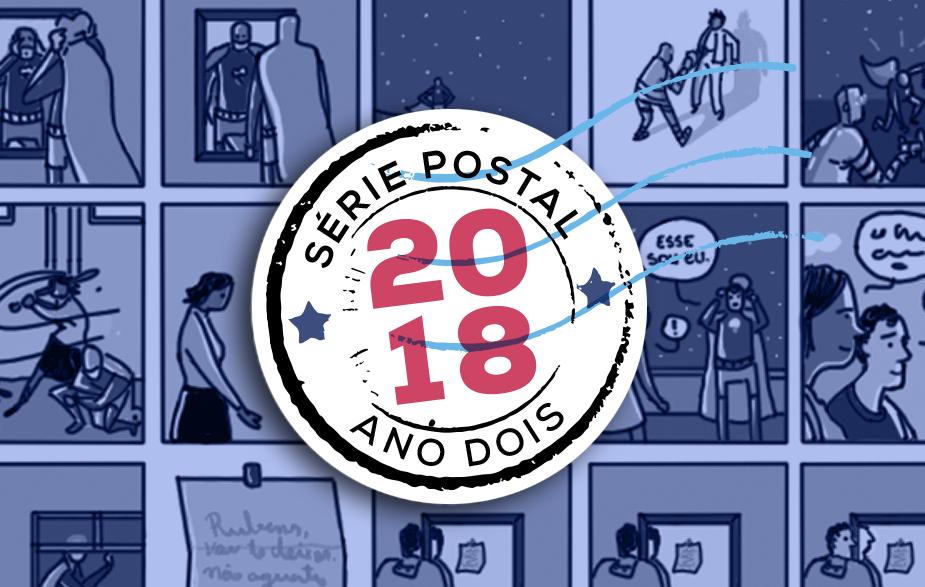 A Série Postal está de volta! O quadrinista Alexandre S. Lourenço assina o primeiro número da coleção em 2018