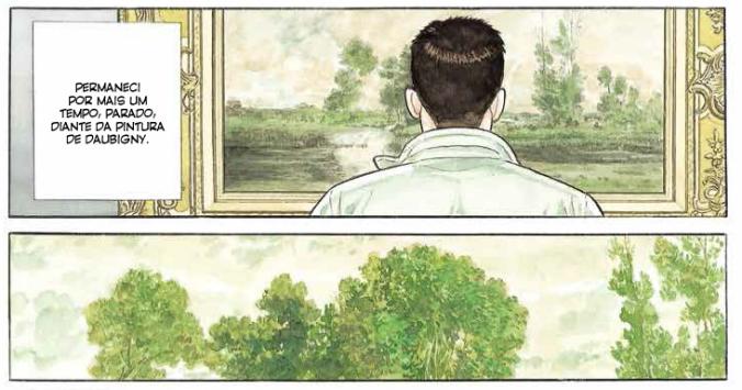 Confira uma prévia de Guardiões do Louvre, HQ de Jiro Taniguchi e próximo lançamento da Pipoca & Nanquim